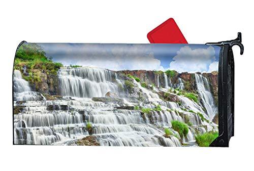 XPNiao Magnetic Garden Yard Mailbox Cover Waterfall Falls Travel by XPNiao