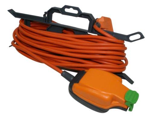 Masterplug CT1513P/IPS 15 m Extension Lead with In-Line weatherproof Socket