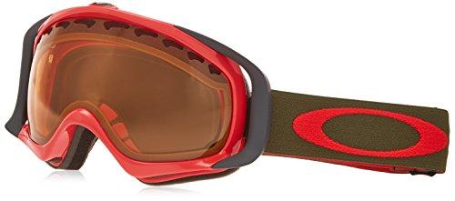 Oakley OO7005N-28 Crowbar Eyewear, Red Herb, Persimmon - Sunglasses Oakley Outlet