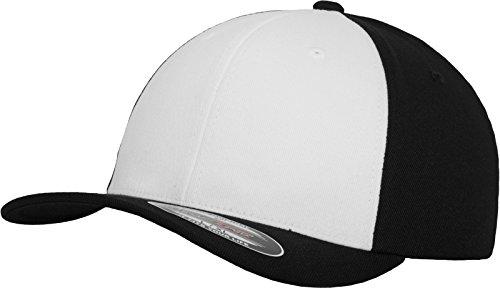 Flexfit Performance - Gorra para adulto multicolor - negro y blanco