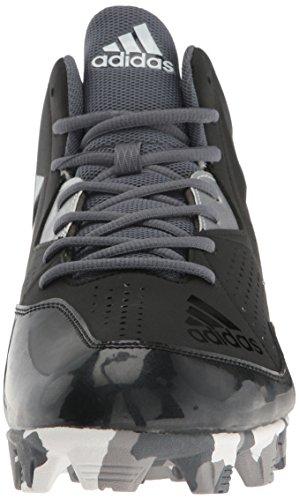 Adidas Styrhytten 4 Mitten Mens Baseboll Knapar Svart / Vit / Onix