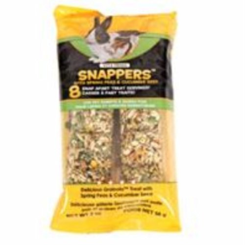 SUNSEED COMPANY 36048 Peas Cucumber Vita Prima Snappers for Pet Rabbits and Guinea Pigs, 2 oz by SUNSEED COMPANY