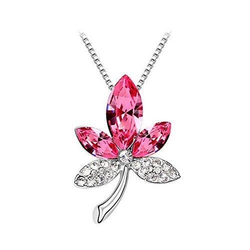 next-thur-new-design-austrian-crystal-pendant-necklace-maple-leaf-love-womenpink