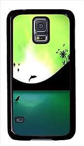Best Samsung Galaxy S5 Cases - Paradise Silhouette Custom Designr Samsung Galaxy S5 / SV Case Cover - Polycarbonate - Black