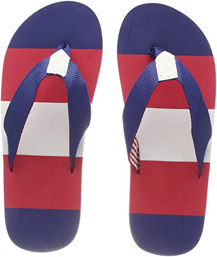 Beck Unisex Adults' Sailor Flip Flops Multicolour (Multicolor 50)