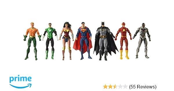 Amazon.com: DC Rebirth: Justice League of America Action Figure 7 ...