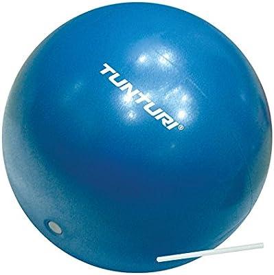Tunturi-Fitness 14Tusfu254 Balón Suizo, Unisex Adulto, Azul, 25 cm ...