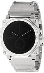 KR3W Men's K1440SLVR Silver Vanquish Analog Watch
