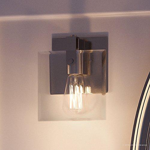 Luxury Modern Farmhouse Bathroom Vanity Light, Small Size: 8.38