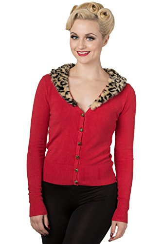 Banned-Red-Fur-Cardigan