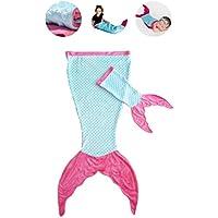 PoshPeanut Mermaid Blanket Softest Minky Comfy Cozy...