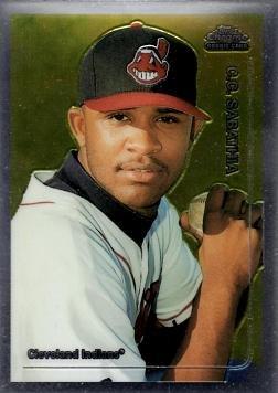 1999 Topps Chrome Traded Baseball #T33 C.C. (CC) Sabathia Rookie Card (Chrome Topps Baseball 1999)