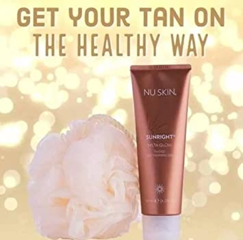 NU SKIN Nu skin Sunright Insta Glow 125ML 4.2 OZ BUY ONE GET 2 PIECES 3 FEET iphone and samsung cable free