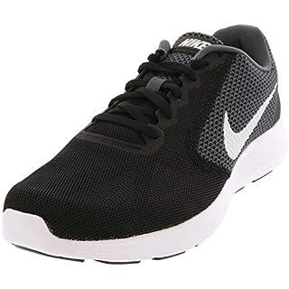Nike Men's Revolution 3 Running Shoe, Dark Grey/Electric Green/Black/White, 11 D(M) US