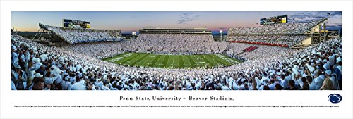 Penn State Football - Sunset - Blakeway Panoramas Unframed College Sports - In Sunset Mn Times