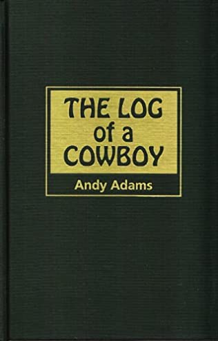 book cover of The Log of a Cowboy