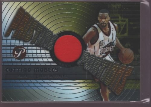 CUTTINO MOBLEY 2002-03 TOPPS PRISTINE GAME USED WORN JERSEY PATCH ROCKETS $12 ()