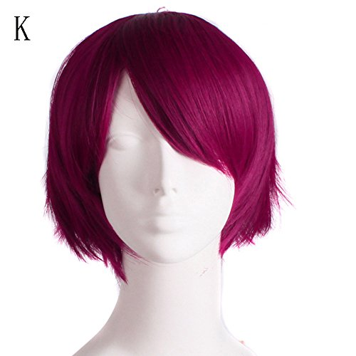 FORUU Wigs, 2019 Valentine's Day Surprise Best Gift For Girlfriend Lover Wife Party Under 5 Free delivery Graduated Color Cosplay Wig Start Life In Another World Costume Play Halloween K -