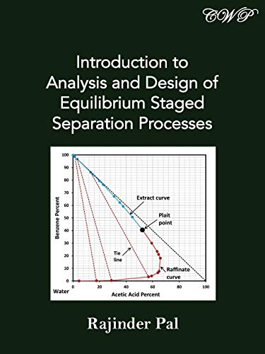 Introduction to Analysis and Design of Equilibrium Staged Separation Processes (Chemical Engineering) (Chemical Engineering Design And Analysis An Introduction)