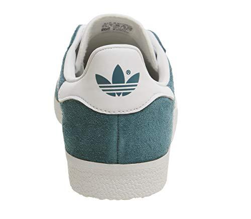 White Adidas Petrol Footwear Blue White Night Shoes Footwear Gazelle Men 060Bqfg