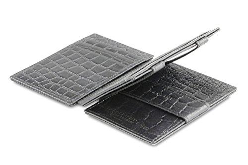 Croco Leather Magic Croco RFID Magistrale Black Plus Wallet Garzini q0SdwBtt