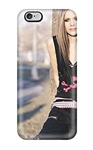 For Iphone 6 Plus Premium Tpu Case Cover Celebrity Avril Lavigne Protective Case