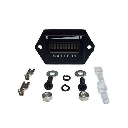 Led Battery Meter (48 Volt Golf Cart Digital LED Battery State of Charge Indicator Meter)