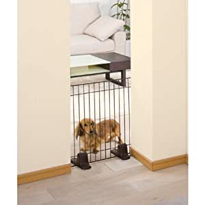 Self Standing Gate / System Pet Fence STF-606 Brown