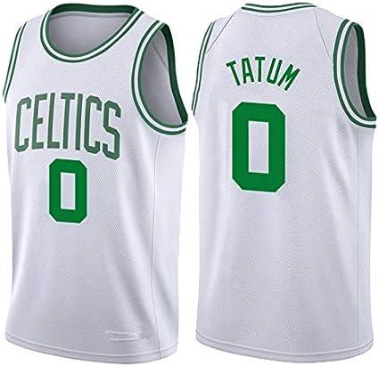 N&G SPORTS Jayson Tatum, Camiseta de Jugador de Baloncesto, Boston Celtics, Camiseta de los fanáticos, Chaleco Transpirable y de Secado rápido, niños, Equipo de Partidos: Amazon.es: Ropa y accesorios