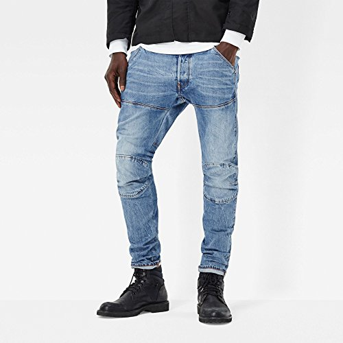 Blu 071 Jeans Uomo Raw star G medium Aged ATqIUtzx