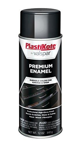 (PlastiKote T-1 General Purpose Gloss Black Premium Enamel - 12 Oz.)