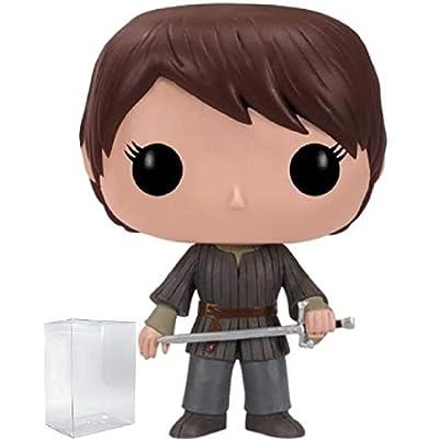 Game of Thrones: Arya Stark Funko Pop! Vinyl Figure (Includes Compatible Pop Box Protector Case): Toys & Games