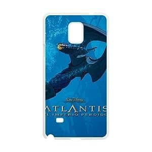 Samsung Galaxy S4 Phone Case White Atlantis The Lost Empire CXF333156