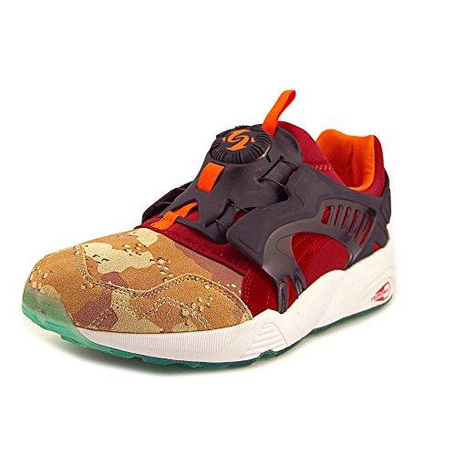 PUMA Men's Disc Blaze Desert Dusk Dark Navy/Ribbon Red Ankle-High Cross Trainer Shoe – 11M