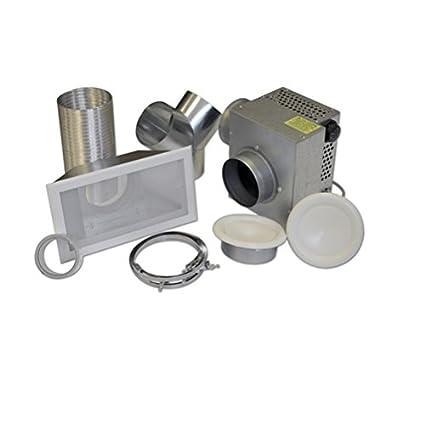 aeroval DS 250 Eco Kit de distribución para recuperación de aire caliente de sartenes