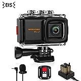 Apexcam Pro 4K WiFi Action Camera,20MP EIS Waterproof Sports Camera 40M Ultra HD