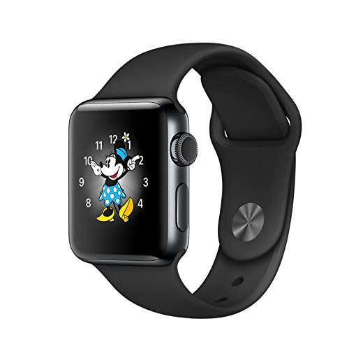 Apple Watch series 2 Stainless Steel 38mm (Space black stainless steell with Black sport band)