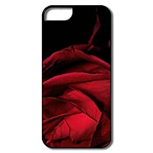 Custom Beauty and the Beast Rose Stained Glass For Iphone 6Plus 5.5Inch Case Cover (; Laser Technology)