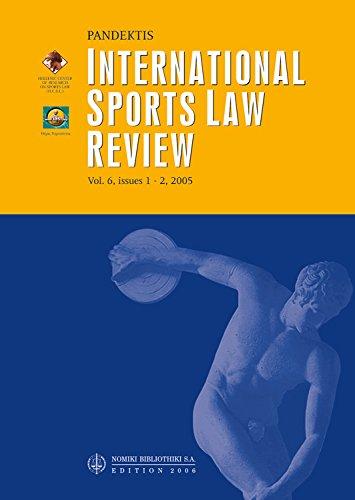 Download International Sports Law Review Pandektis 2006 pdf epub