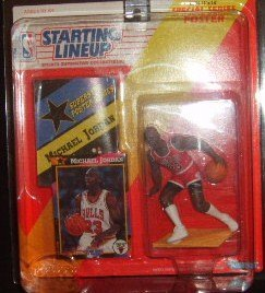 Starting Lineup 1992 Michael Jordan Sports Collectible Figure by Kenner Starting Lineup