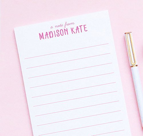 amazon com personalized kid s lined notepad personalized