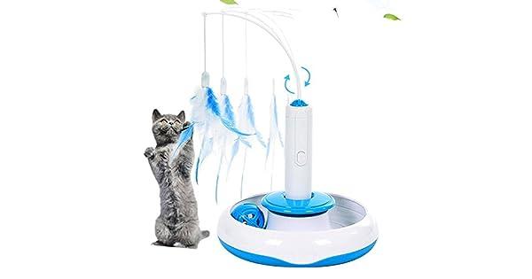Amazon.com: Pet Ninja Electric Pet Cat juguetes Rotar ...