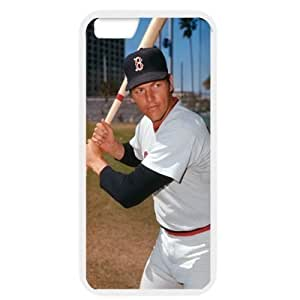 MLB iPhone 6 White Boston Red Sox cell phone cases&Gift Holiday&Christmas Gifts NBGH6C9125250