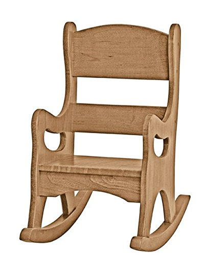 Toddler Rocking Chair Handmade in the USA Maple Wood Rocker (Natural) by USA Handcrafted