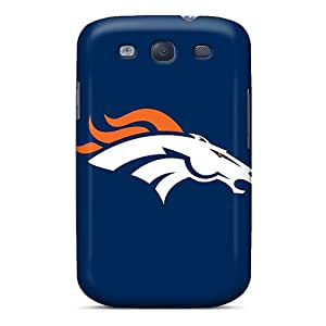 Samsung Galaxy S3 Rxj8351IeDV Allow Personal Design Vivid Denver Broncos Pattern Protective Hard Cell-phone Cases -JonBradica