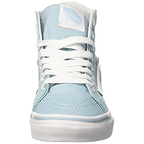 2981cdbfe0 Vans Womens SK8-Hi Slim Skate Shoes Crystal Blue True White (9 Women s