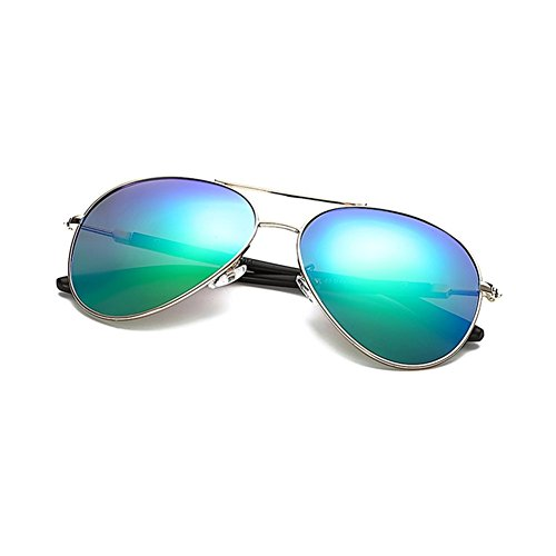 Gold de de piloto Blue UV Sol Gold de Red Frame Gafas Hombre lizhiqiang para Sol LIZHIQIANGtaiyangjing de de Sol Gafas Gafas polarizadas Green Anti Gafas Orange Sol Frame WEXzRH7q