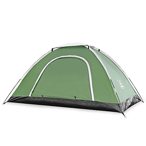 skylink Dome Tent for Camping,Family Camping Tents 2-4 Person,Backpacking Tent Double Layer with Easy Setu