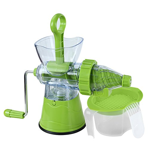 TTLIFE Manual Hand Crank Single Auger Juicer,Home Manual Juicer