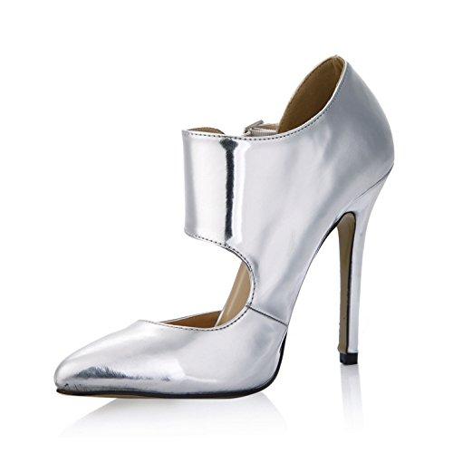 du nouveau le haut miroir réformateur dîner Cliquez chaussures sens argent sur point talon femmes à femmes fine chaussures wzE5W5qInp